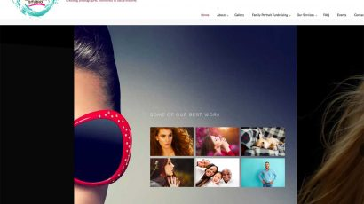 Local photo studio gets a website make-over